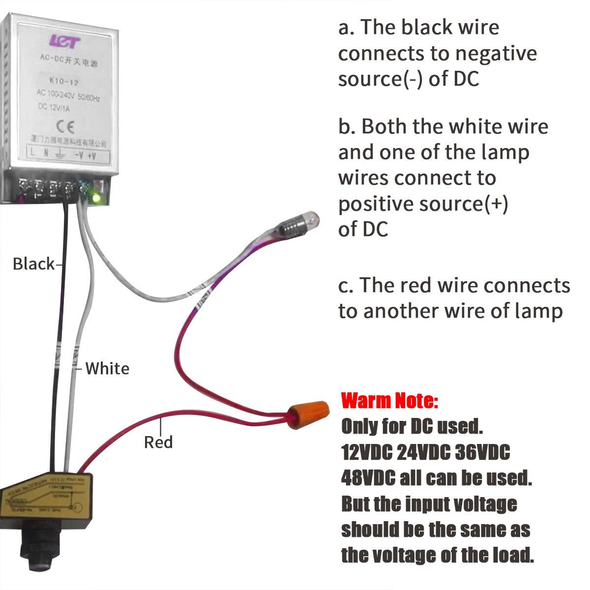 12V Photocell Wiring Diagram - Seniorsclub.it Wires