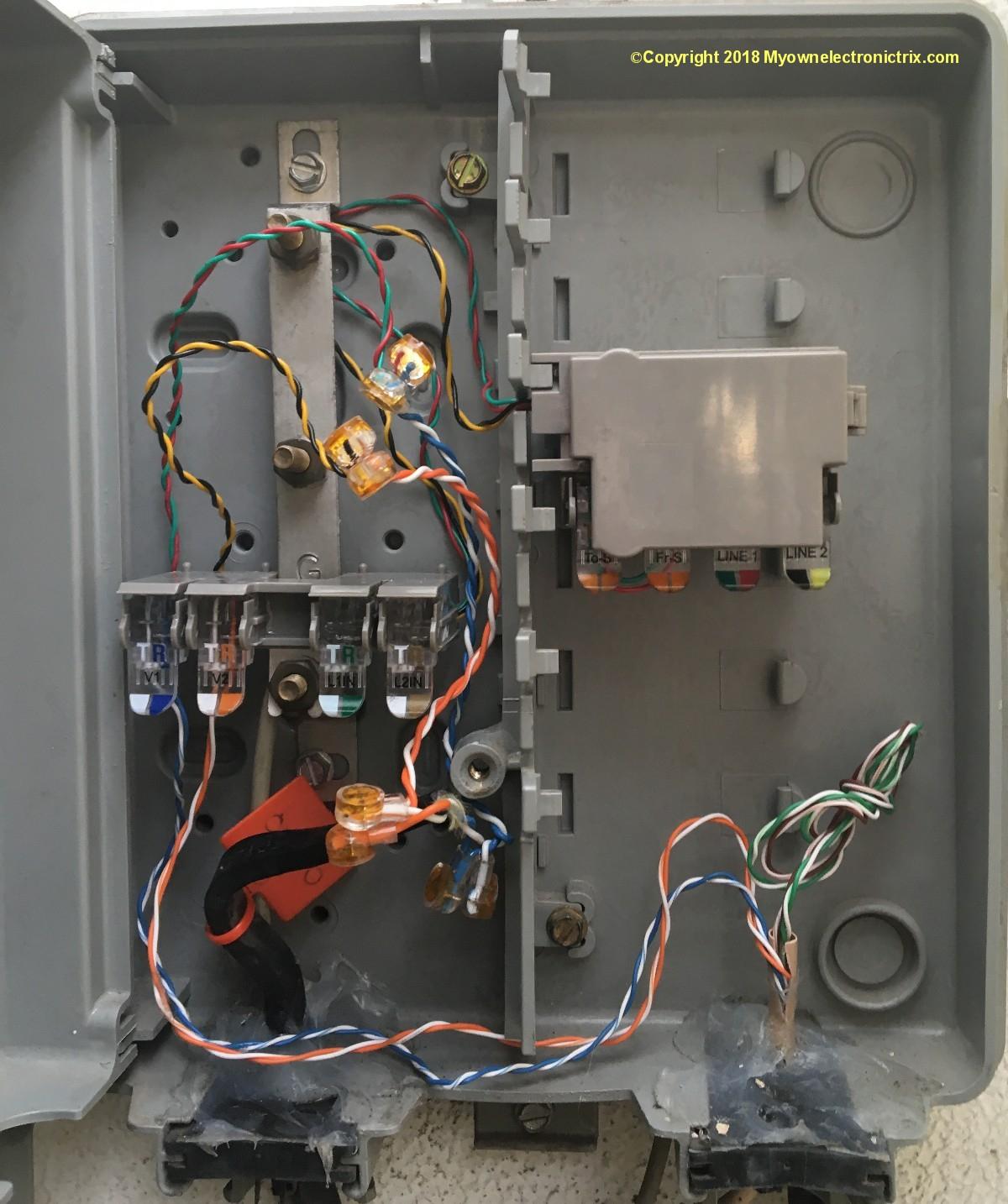 Outside Telephone Wiring - Seniorsclub.it Series-Storm
